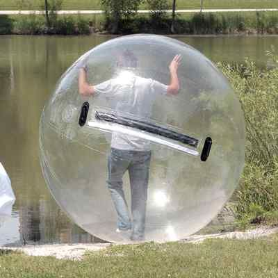 Inflatable Water Walking Ball Zorb Pool Human Hamster Tizip With Air Blower New Water Fun Walk On Water Giant Inflatable