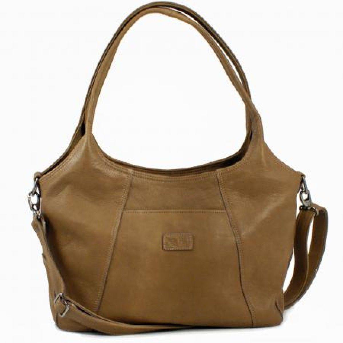 Handtasche Zingara aus Leder / Leather hand bag Zingara