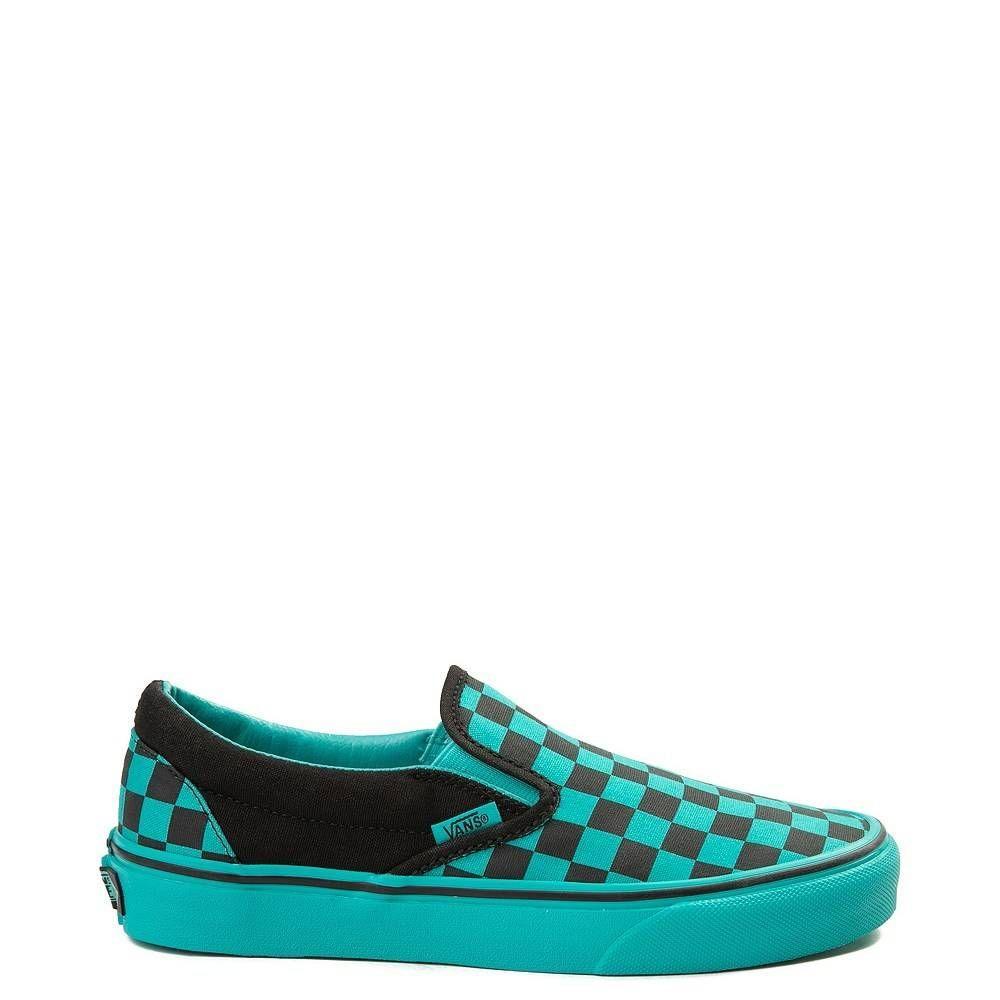 Vans Slip On Chex Skate Shoe | Vans