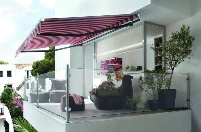 Schön kasettenmarkise sonnenschutz balkon manuell elektrisch glas  VN07