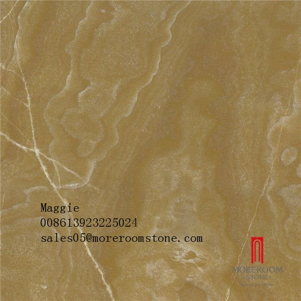 Chinese Supplier Glazed Classical Brown Porcelain Faux Onyx Tile ...