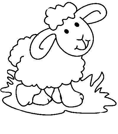 desenhos para colorir ovelha para colorir páscoa pinterest