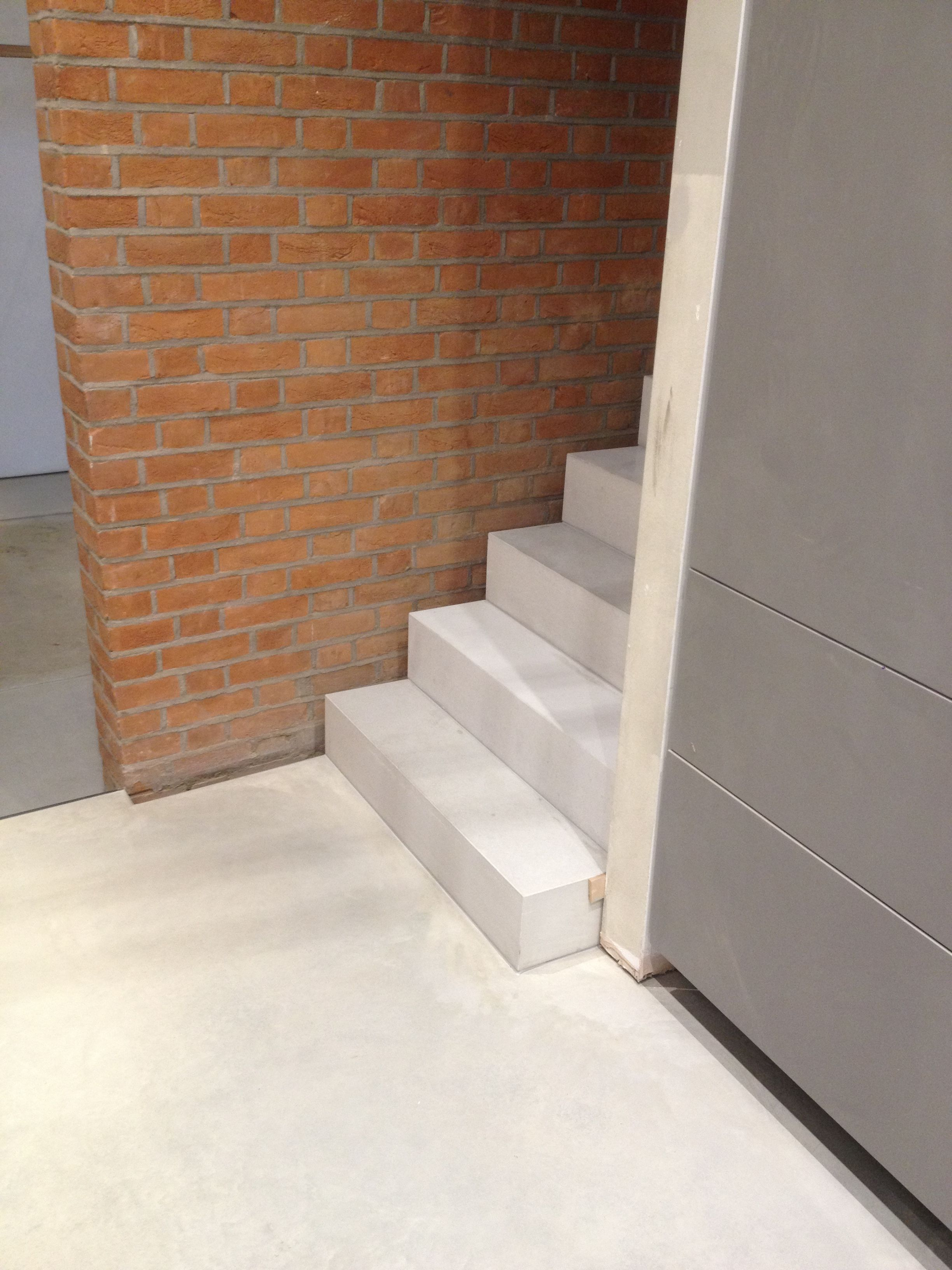 Best Off White Lazenby Polished Concrete Floor With Matching L 400 x 300