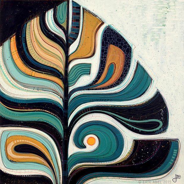 Art Portfolio by Erik Abel : Original Paintings and Illustrations