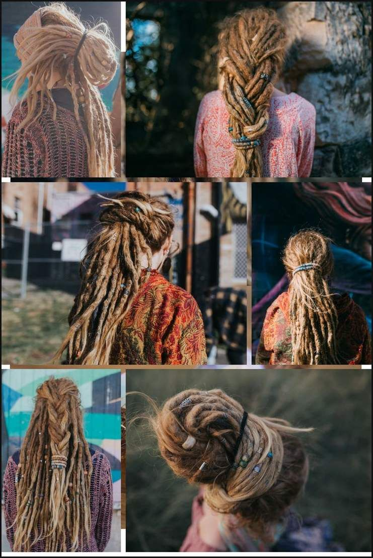 6 Dreadlock Hairstyles Mountaindreads Com Dread Hairstyles Women