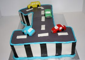 SAB Cakes Car first birthday cake Henrys first birthday