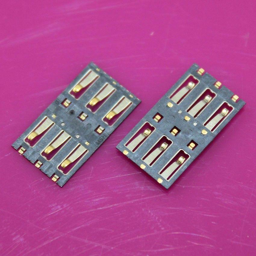 100pcs/lot SIM Card Slot Reader Holder Connector SIM Card Socket for xiaomi3 M3 Mi3 Mi 3