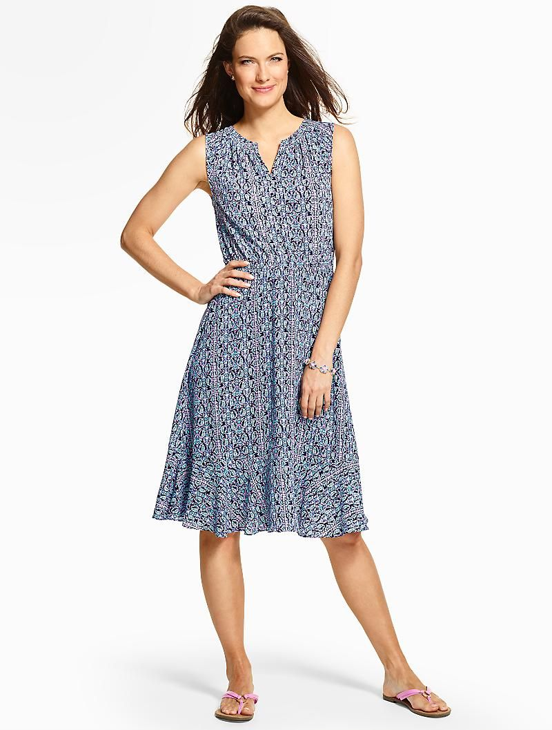 Lattice Paisley Flounced Dress Dresses Spring Outfits Casual Clothes For Women [ 1057 x 800 Pixel ]