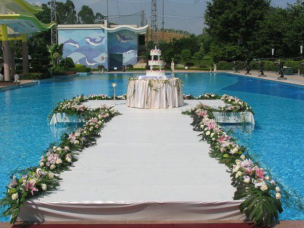 Pool Wedding Decoration Ideas: Pool Wedding - Google Search