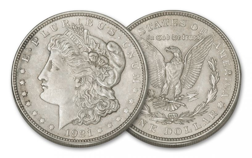 1921 Us Philadelphia 1 Dollar Silver Morgan Xf Coin Govmint Com Morgan Silver Dollar Silver Dollar Dollar