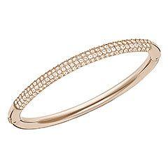 Stone Mini Bangle, M - Jewelry - Swarovski Online Shop