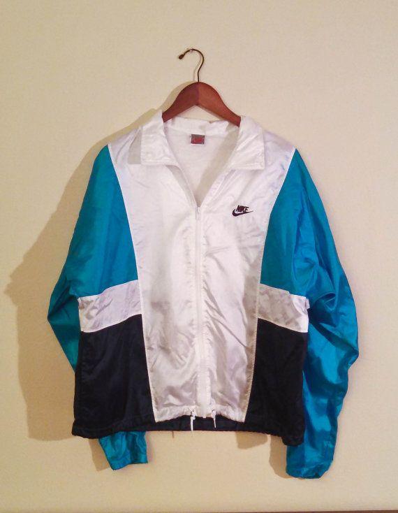 b4868143f4e0 Rad Nike Neon Windbreaker Jacket - Vintage Nike