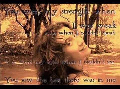 Celine Dion Because You Loved Me Album