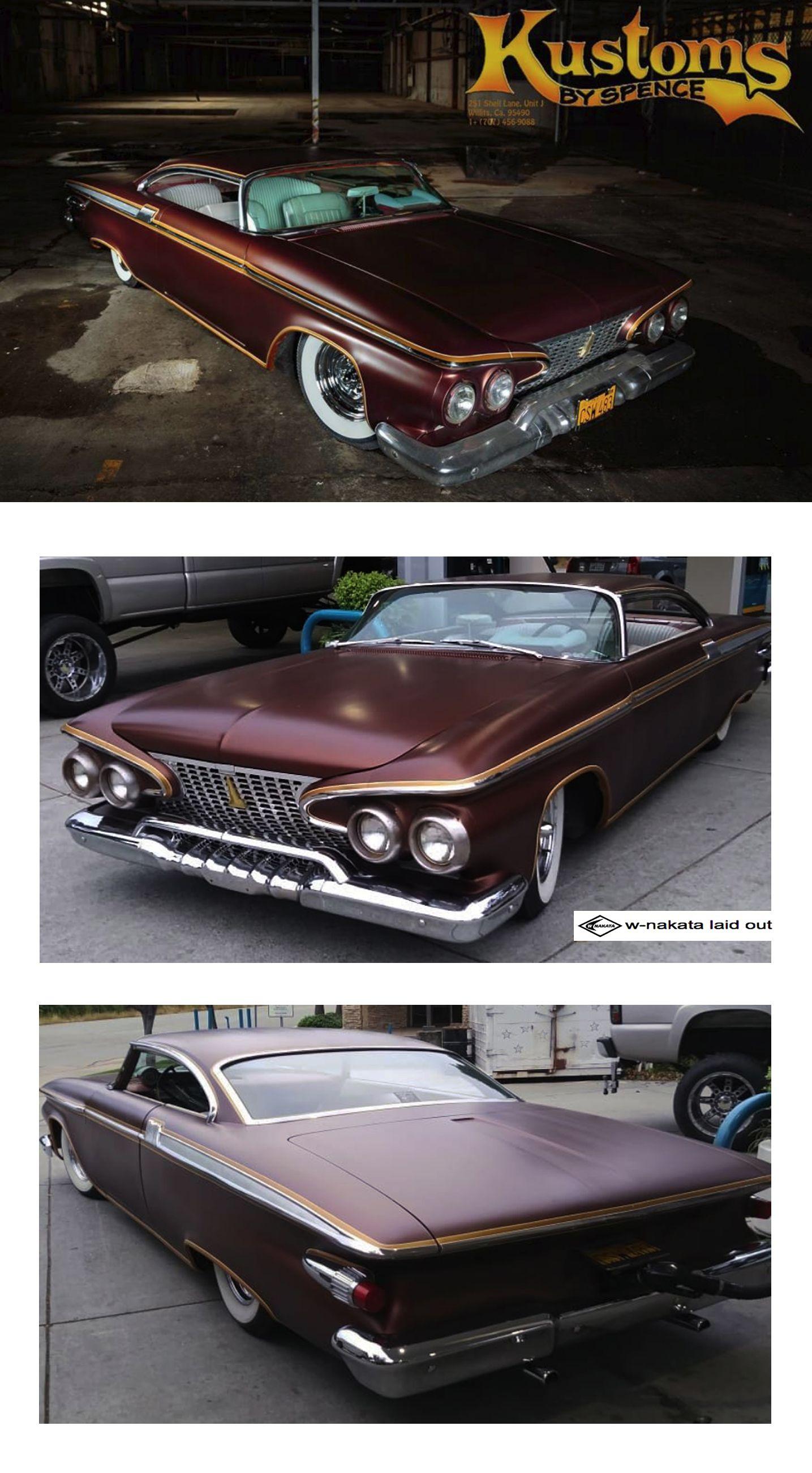 WNAKATA laid out///'61 Custom cars, Kustom, Vehicles