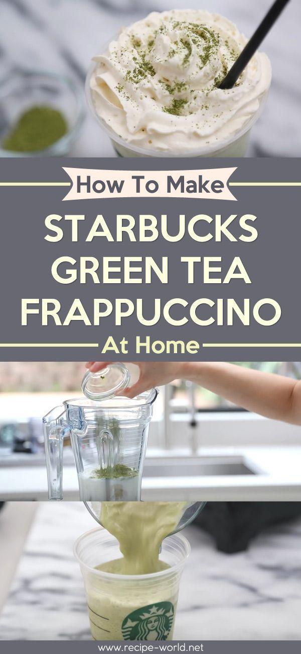 How To Make Starbucks Green Tea Frappuccino At Home #ketofrappucinostarbucks