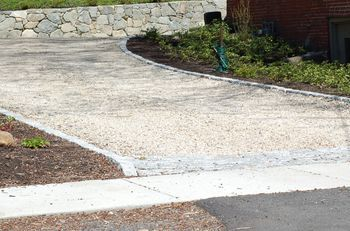 Keep Driveway Costs Down By Using Gravel Or Loose Stone Driveway