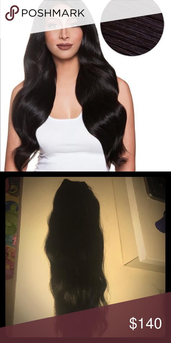 Bellami 22 Inch Black Extensions My Posh Picks Pinterest Hair
