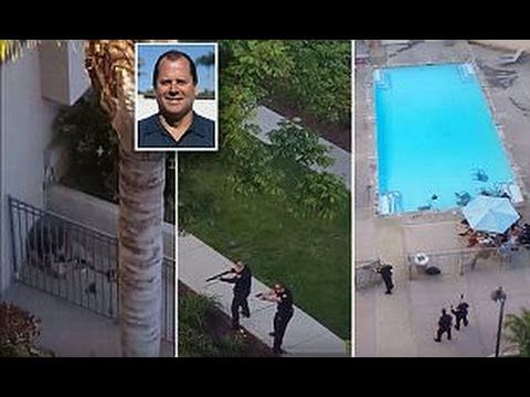 DRAMATIC FOOTAGE Shows San Diego Police SHOOT DEAD White Pool SHOOTER Peter Selis!!