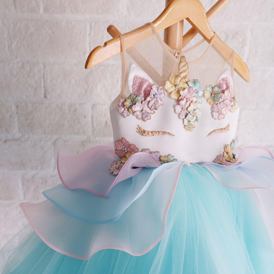 unicorn dress— #honeybeekids #honeybee_kids #instakids ...