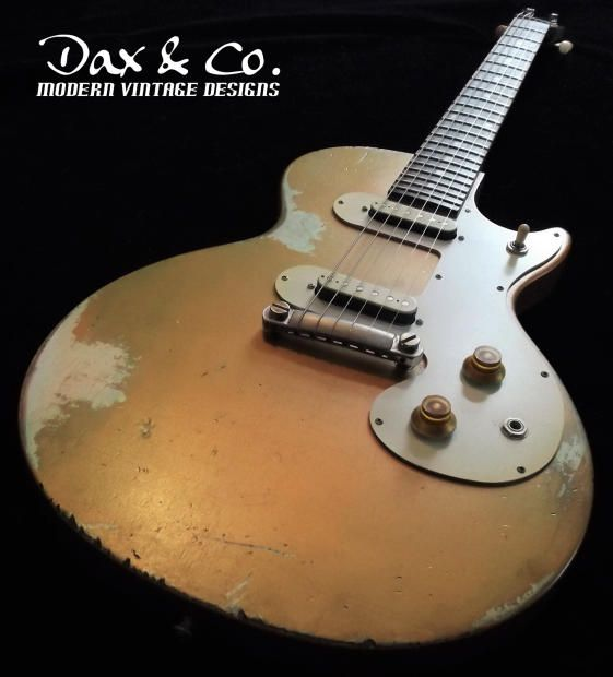 Dax Co Customized Gibson Melody Maker 50 S Style Goldtop Dual Pickups Coolest One You Will Find Dax Co Custom Shop Reverb Gibson Melody Maker Melody Gibson Guitars