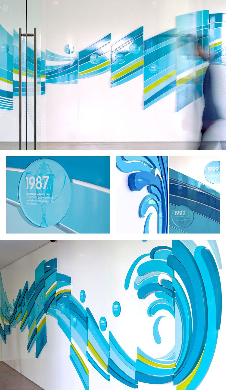 Frontlicht design bringing water to life for a drinks distributorus corporate offices