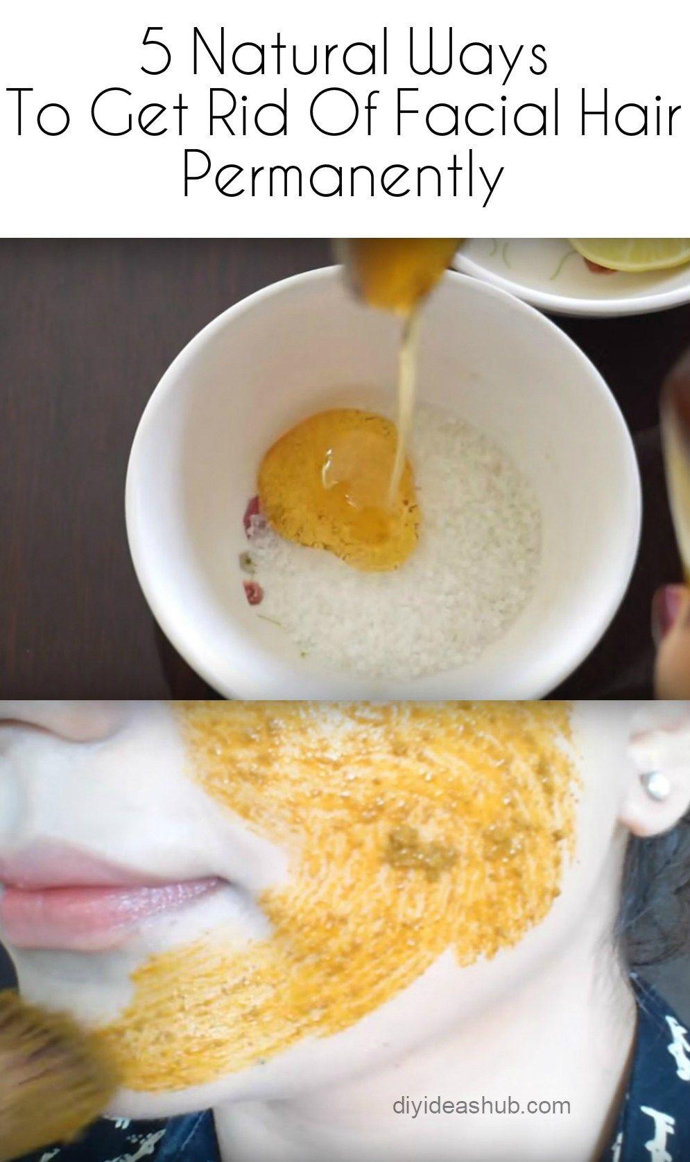ways to permanently get rid of facial hair at home facial hair