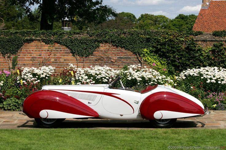 1937 Delahaye 135 Figoni et Falaschi Torpedo Cabriolet 1936.