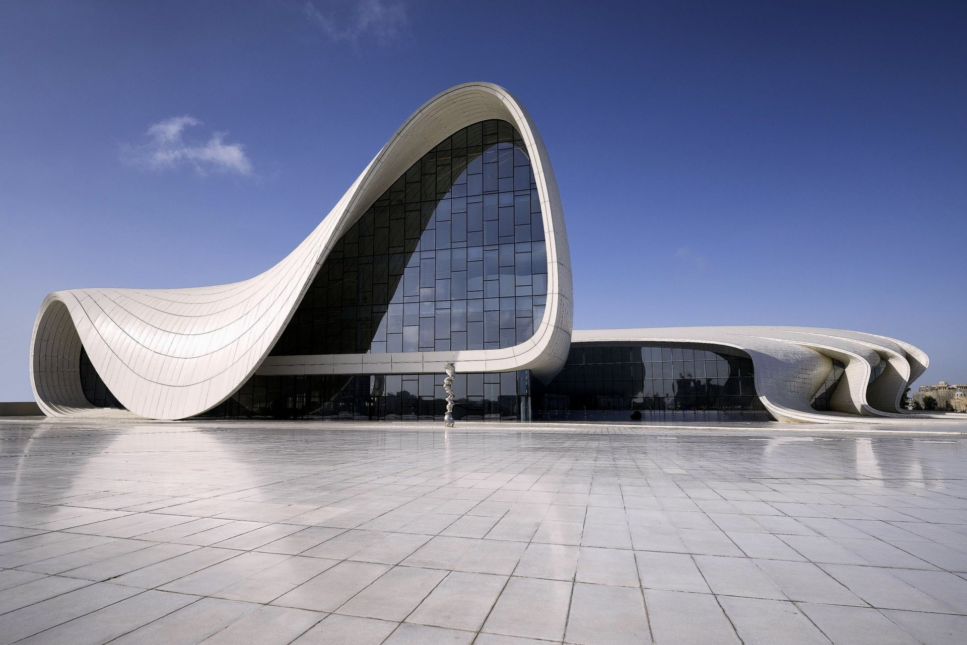 the heydar aliyev cultural center baku azerbajdzjan by zaha hadid architects bricks steel. Black Bedroom Furniture Sets. Home Design Ideas
