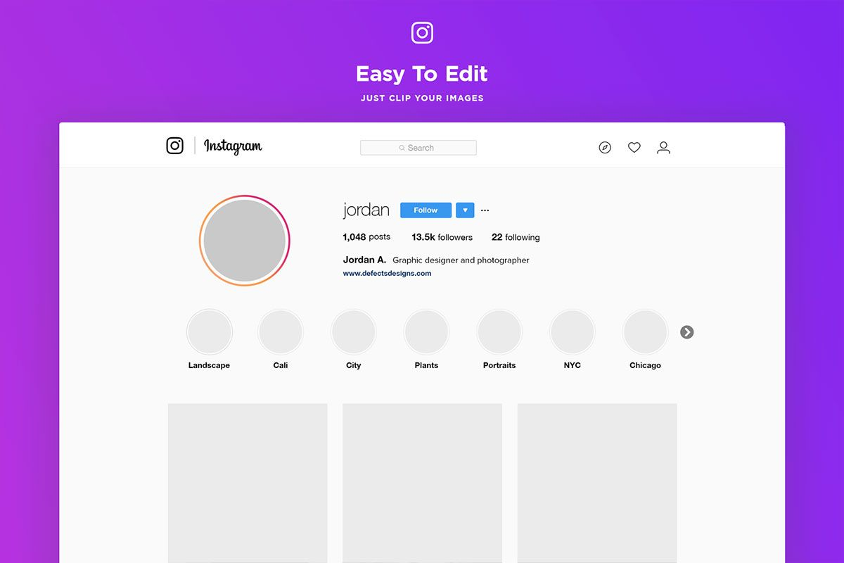 How to change my profile photo on Instagram from iPhone Android or PC