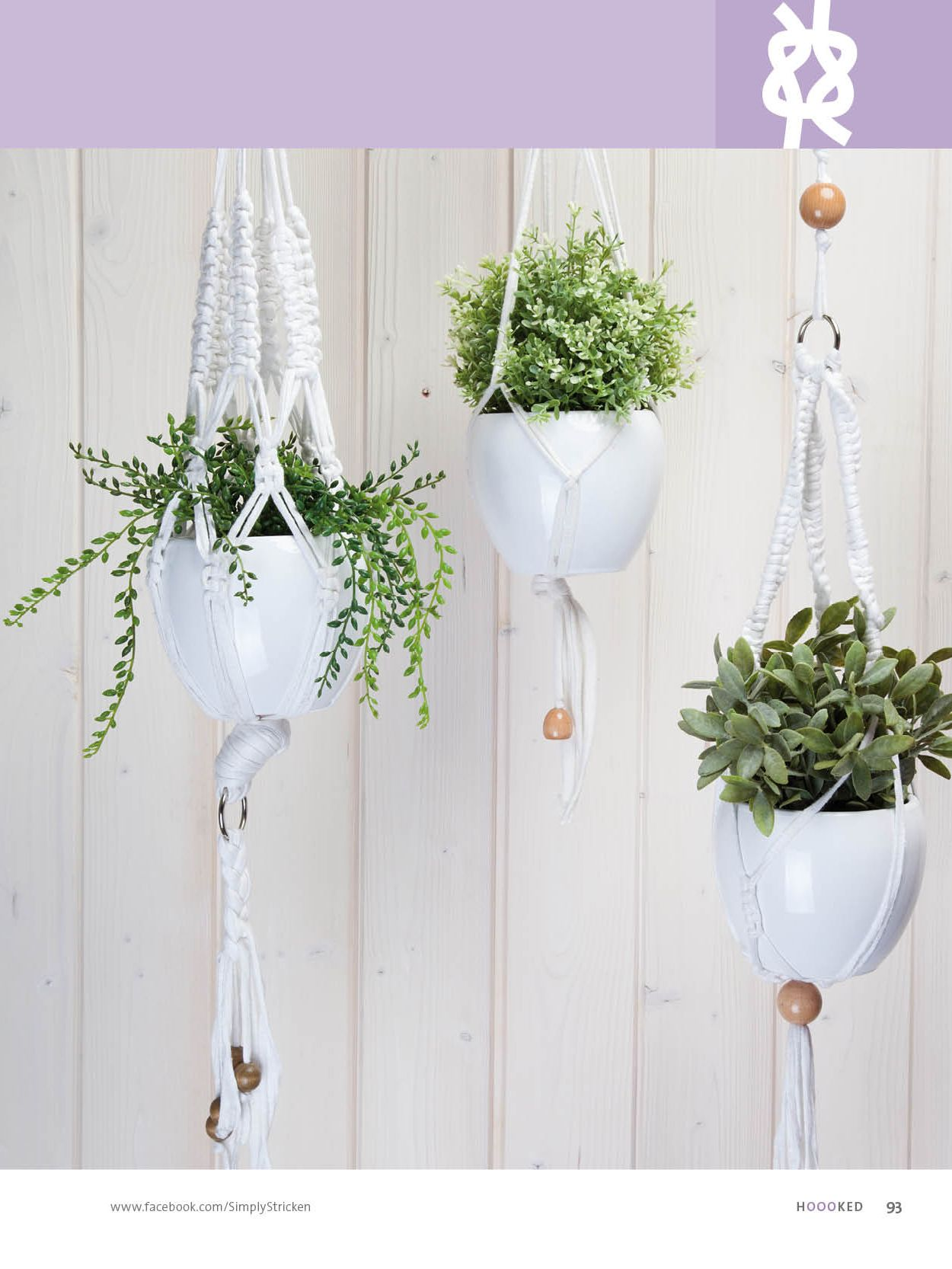 Wall Hangings, Diy Projects, Craft Ideas, Interior, Macrame Plant Hangers,