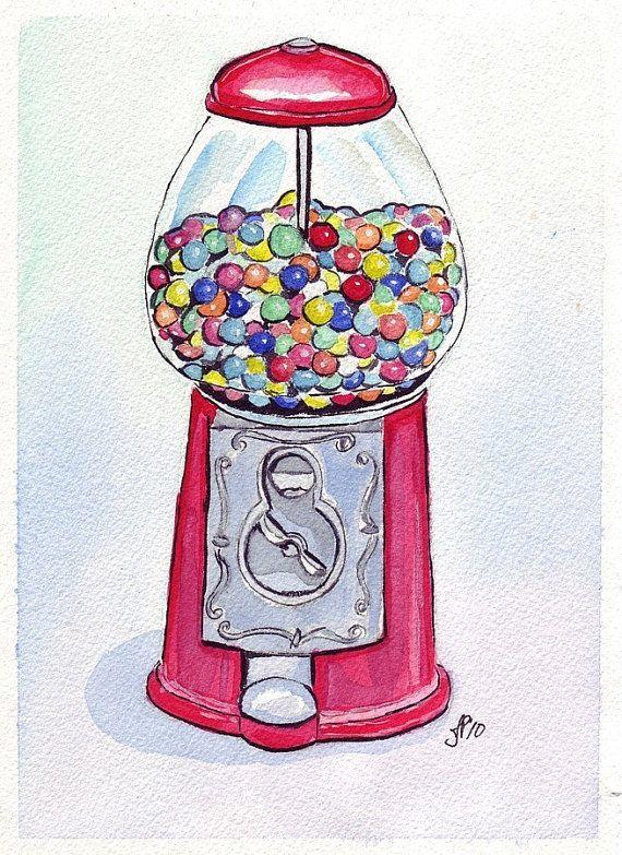 Kids room or playroom art   11x14 Print  Watercolor Art Painting Illustration  by jojolarue, $25.00