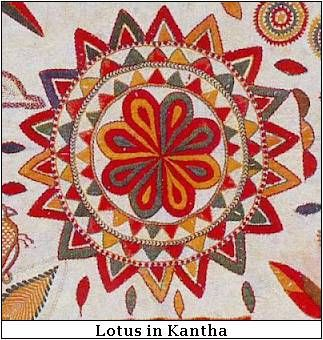 Lotus in Textiles - The Motif and the Meaning | indian design