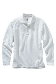 Edwards Garment 1578 Dry-Mesh Long Sleeve Polo - Dry-Mesh Long Sleeve Hi Performance Polo
