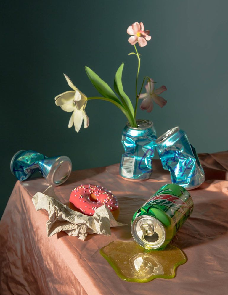 Floral poetic still life photographs by Doan Ly
