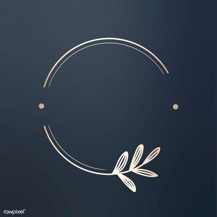 Laden Sie die Premium-Illustration des runden Blumenmuster-Logos 679788 herunter round logo - Brand Logos