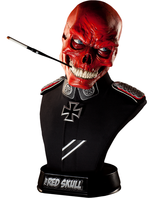 Marvel Red Skull Life Size Bust By Sideshow Collectibles Red Skull Marvel Red Skull Marvel Statues