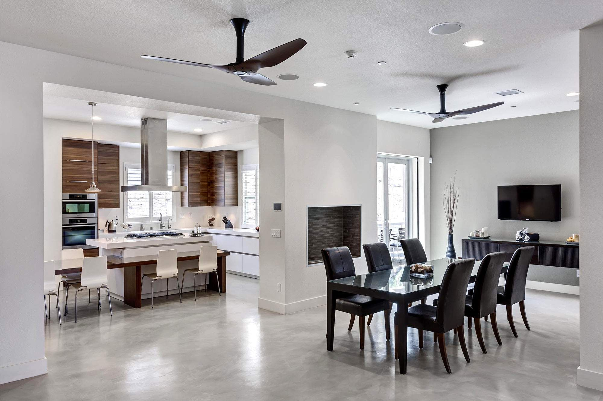 Furniture: Traditional Ceiling Fans For Kitchen With Light Varnished ...