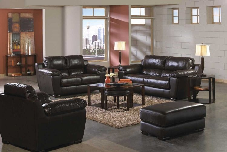 Jackson Furniture   Sergio 4 Piece Living Room Set In Mahogany