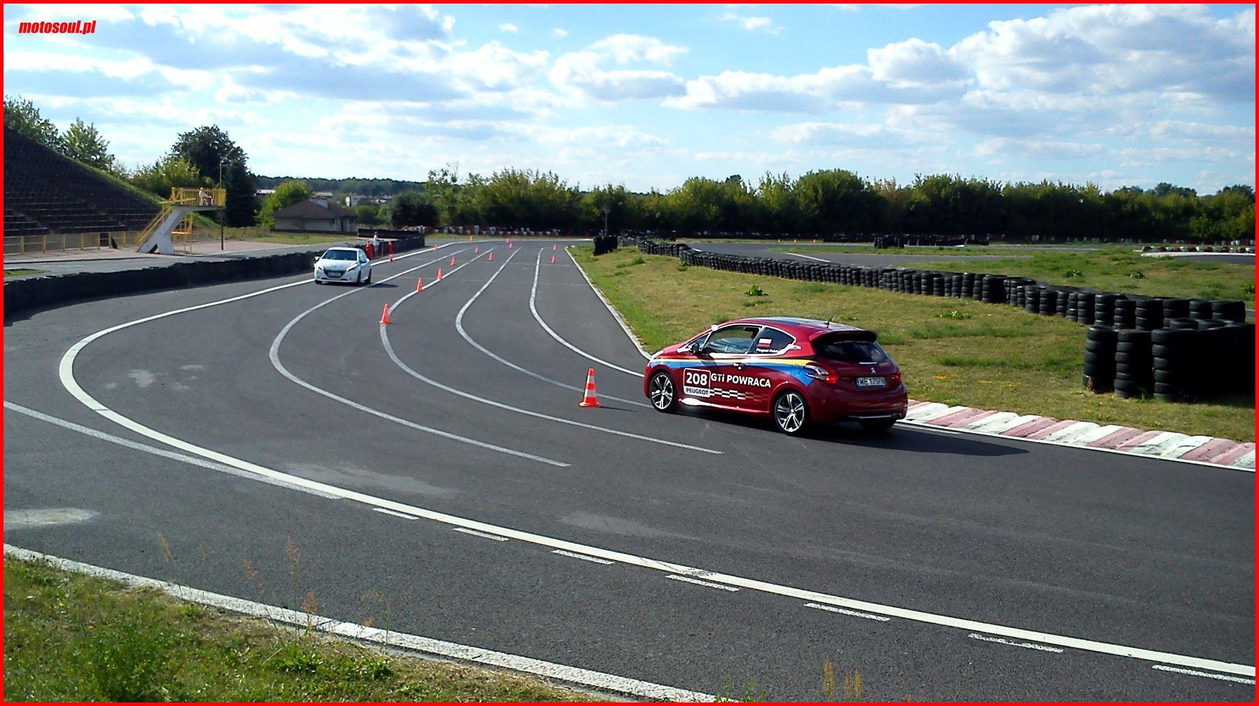 Próba czasowa Tor Radom Peugeot 208 GTI