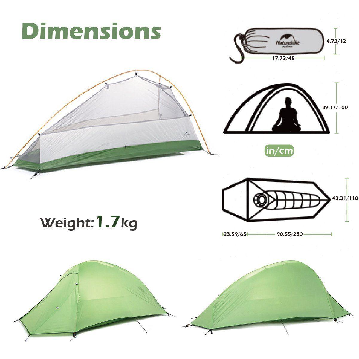 Triwonder 123 Person 4 Season Camping Tent Lightweight Waterproof
