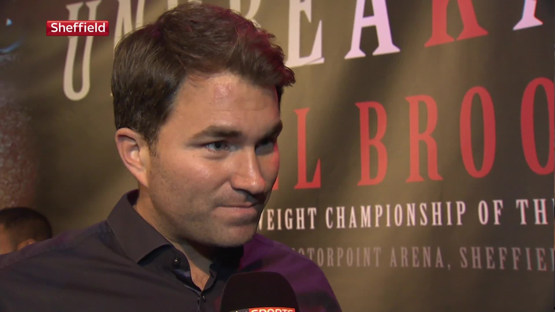 Eddie Hearn says Carl Froch still has 'the fire in his belly'