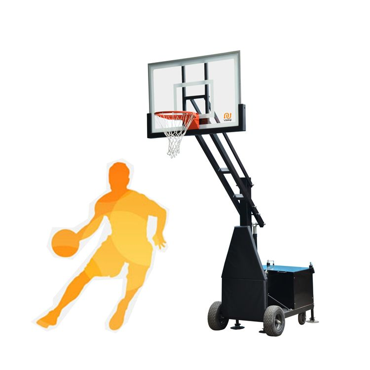 This Portable Basketball Hoops Have 72 60 And 54 Clear Tempered Glass Backboard Hea Portable Basketball Hoop Adjustable Basketball Hoop Basketball Systems