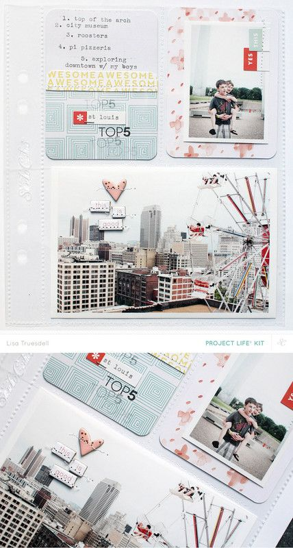 st louis top 5 by gluestickgirl at @studio_calico - Project Life Handbook