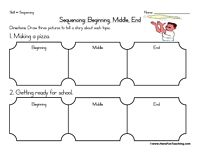 Sequencing Worksheet - Planting A Seed | Reading/Phonics/etc