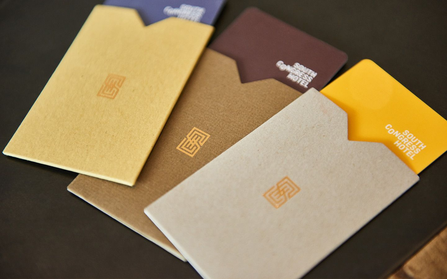 Foda Austin Design And Brand Development Sustainable Food Center Hotel Key Cards Voucher Design Hotel Card