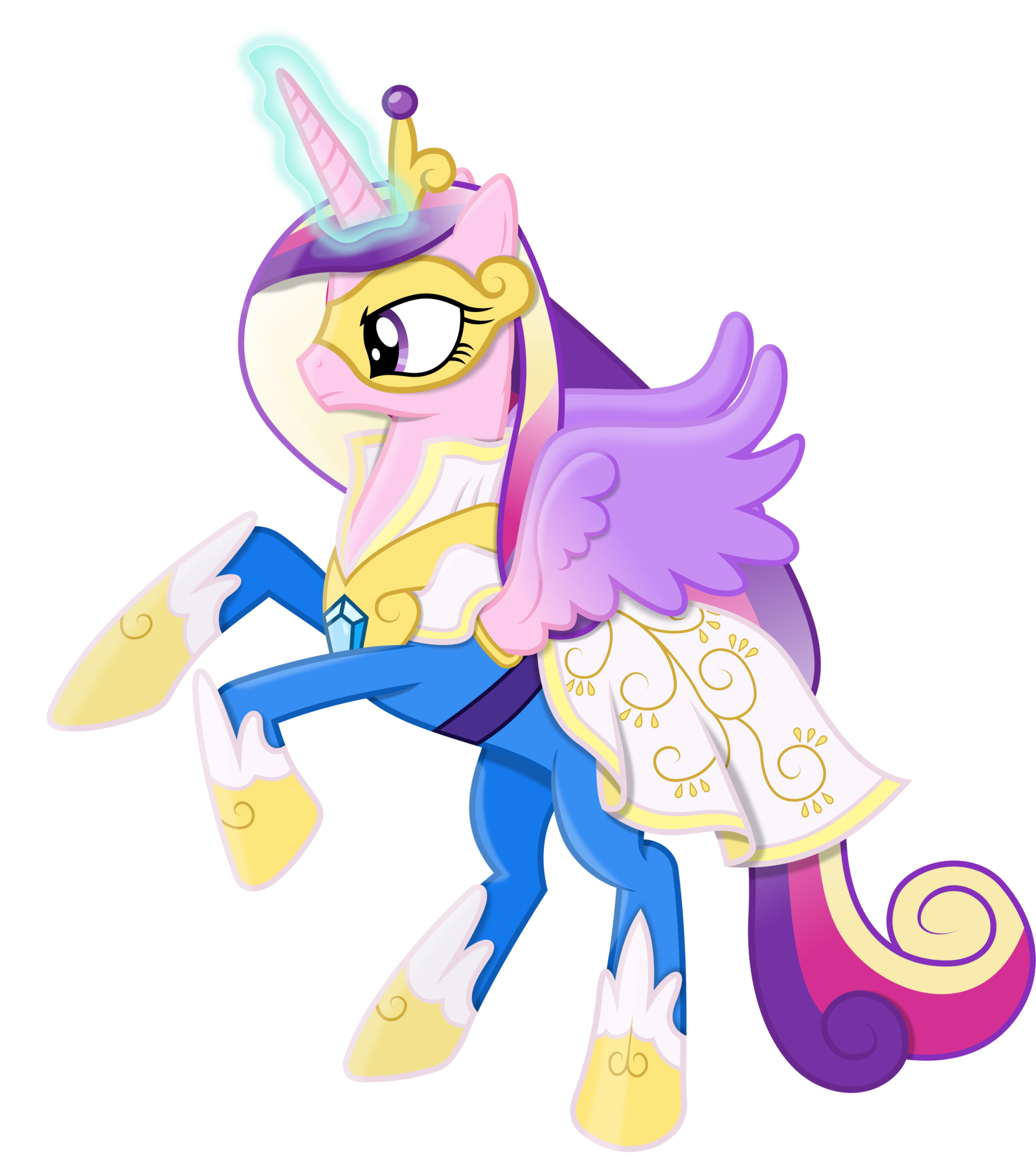 Princess cadance as a power pony by - Princesse poney ...