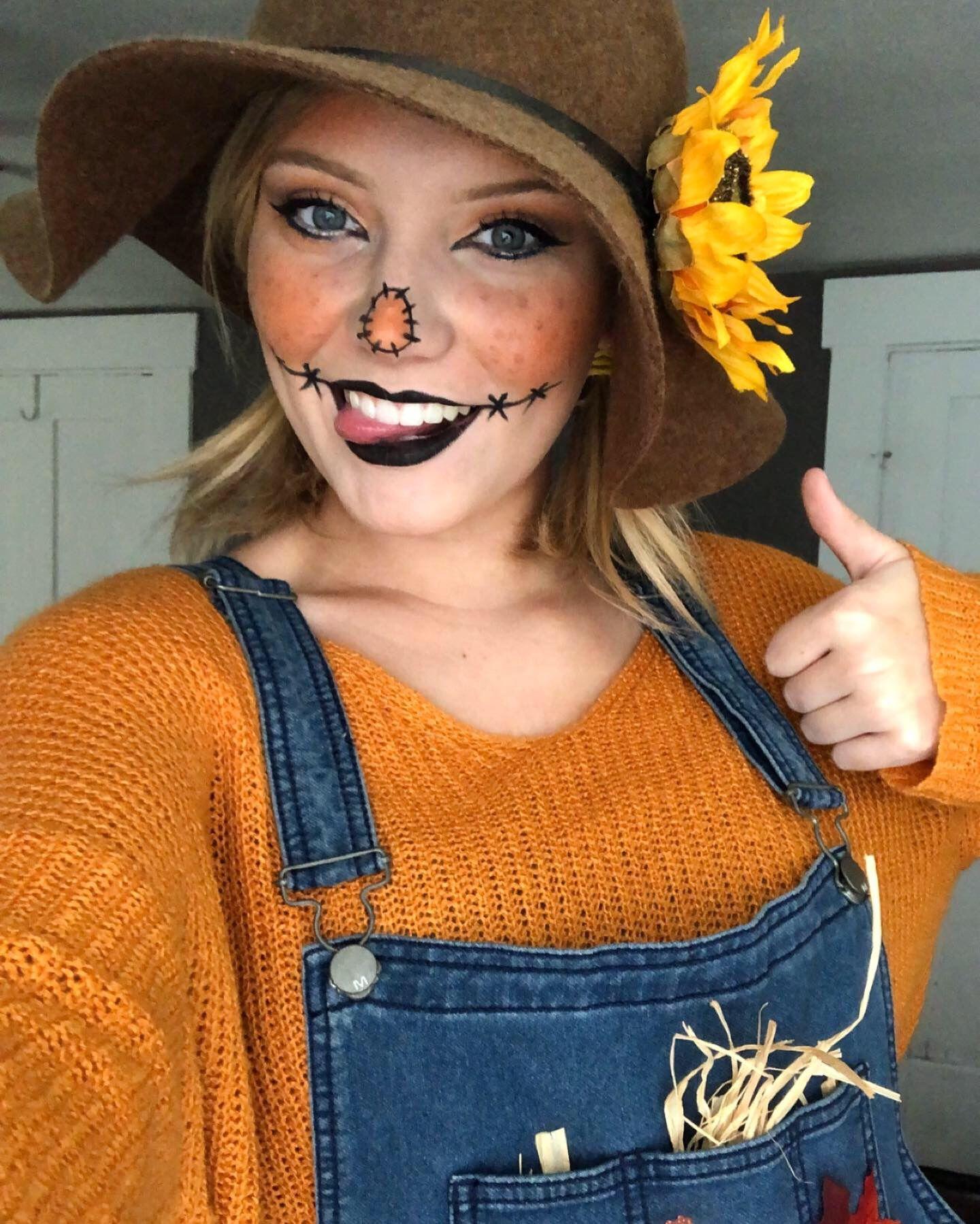 Halloween 2019: Scarecrow #scarecrowmakeup