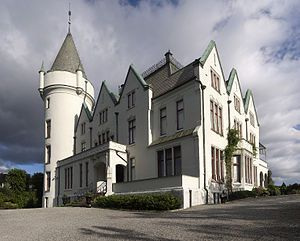 The home of former prime minister Christian Michelsen. Gamlehaugen in Bergen.