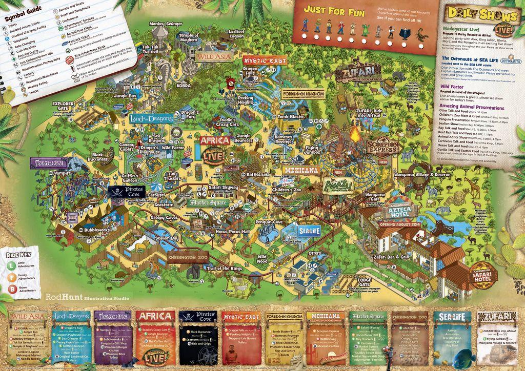 2014 Chessington World of Adventures Theme Park