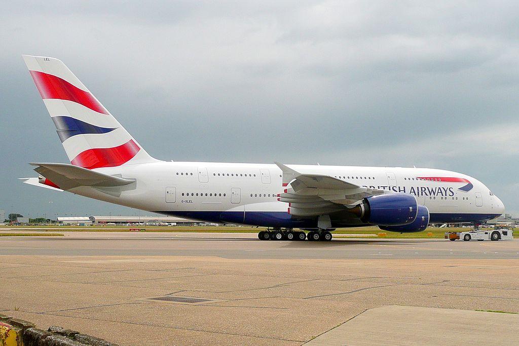 British Airways Fleet Airbus A380800 Details and Pictures